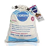 Ecozone Soap and Indian Wash nuts replaces laundry powder and detergents, 300g bag