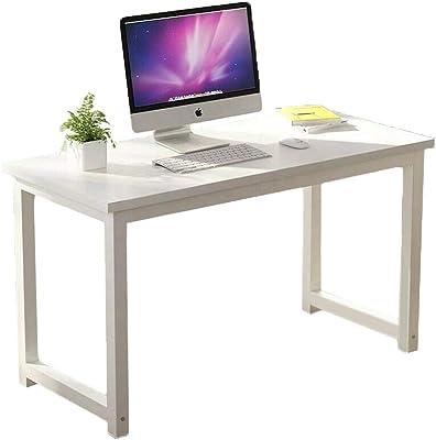 1.2M Modern Office Study Desk (White Top - White Legs)