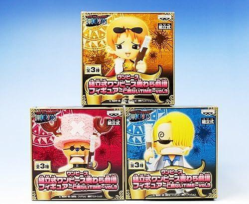 One Piece One Piece Straw theater figure Jingi no time vol.3 ONE PIECE Banpresto (with all three full set + Poster bonus)