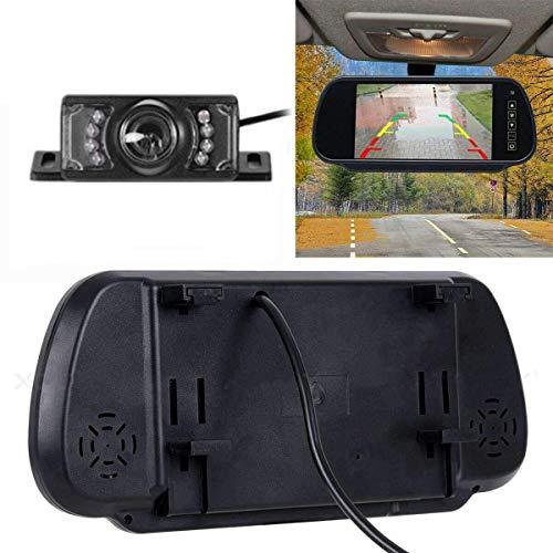 MASO Rückfahrkamera Kit und 170 ° HD TFT LCD Monitor, kabellose Rückansicht, Nachtsicht für PKW