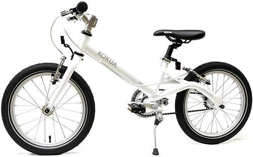 LIKE-to-BIKE Kinderfahrrad von Kokua Weiß mit V-Brake