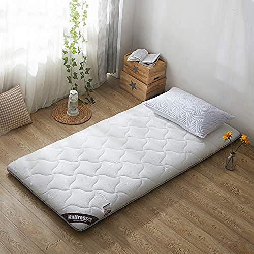 Colchon De Matrimonio,Colchón de futón de piso japonés acolchado plegable enrollable Topper almohadilla para dormir para el apartamento del hogar dormitorio estudiantil-UNA_120x190 cm (47x75 pulgadas)