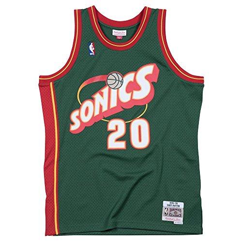 Seattle SuperSonics Gary Payton Mitchell & Ness Swingman Jersey (Medium)