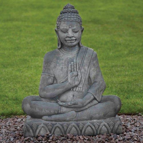 Statues & Sculptures Online Large Garden Ornaments - Java Stone Buddha Statue