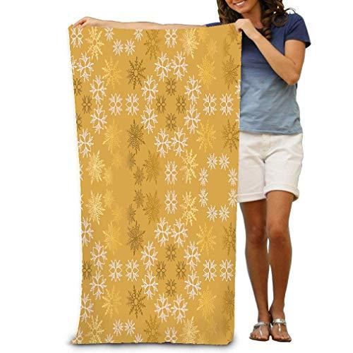 Yocmre Bad Sheet Gouden Licht Roze Sneeuwvlok Eenvoudige Sier abst