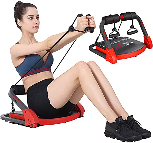 5secs shaper Ab Crunch Machine,Abs and Total Body Workout,Abs and Total Body Workout,Exercise Equipment for Home Gym Equipment for Strength Training with Resistance Bands, Abs and Total Body Workout.