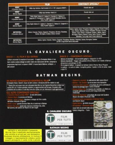 Il Cavaliere Oscuro + Batman Begins (Box 2 Br)