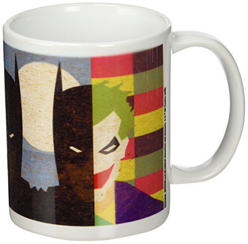 DC Originals MG23636 (Batman/Joker) Mug, Céramique, Multicolore, 11oz/315ml