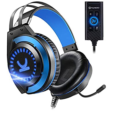 VANKYO Gaming Headset CM7000 with Authentic 7.1 Surround Sound Stereo PS4 Headset, Gaming Headphones