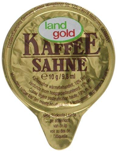 Landgold Kaffeesahne lose 10%, 240er Pack (240 x 10 g)