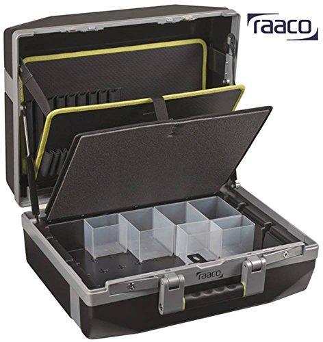 Maletín de herramientas Negro Plástico Tamaño 410x 485x 215mm Premium XL–79