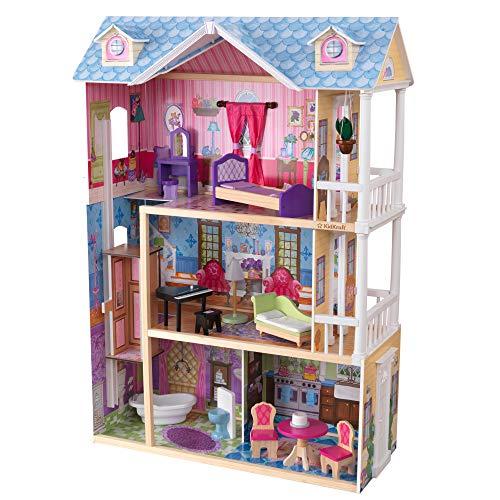 KidKraft My Dreamy Wooden Dollhouse with...