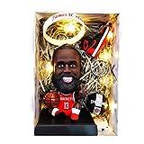 ZPR James Harden Baloncesto NBA Doll Kevin Durant, decoración del Coche y Regalos (Color : James Harden, Size : H13.5cm)