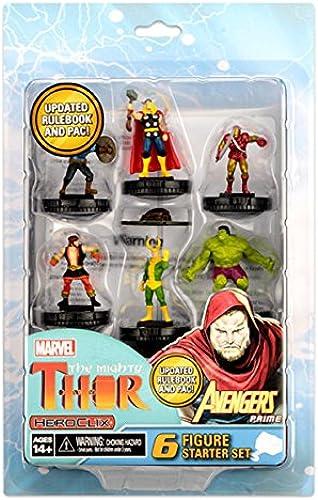 hasta un 50% de descuento Marvel HeroClix  The Mighty Mighty Mighty Thor Starter Set - English  Envío rápido y el mejor servicio
