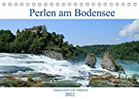 Perlen am Bodensee (Tischkalender 2022 DIN A5 quer): Entdecken Sie wunderschoene Orte am Bodensee. (Monatskalender, 14 Seiten )