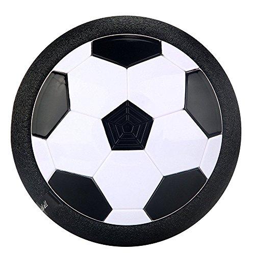 Air Power Fußball der super Hover Power Ball Indoor Fußball mit LED Beleuchtung,Perfekt zum Spielen in Innenräumen ohne Möbel oder Wände zu beschädigen