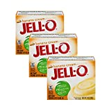 Jell-O Banana Cream Cook & Serve Pudding & Pie Filling No artificial sweeteners No high fructose corn syrup Quick and easy!