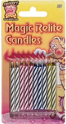 10 magische Kerzen- nicht ausblasbare Geburtstagskerzen