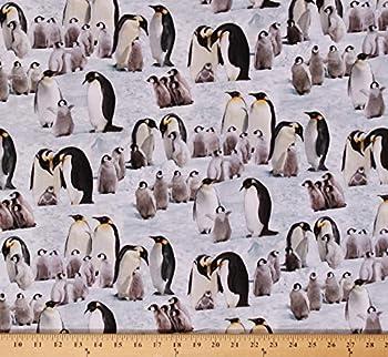 Best penguin print fabric Reviews