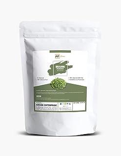 mGanna Pure Brahmi/Bacopa Monnieri/Gotu kola Powder Helps Hair Growth and Enhances Memory Powder and Stress Reliever
