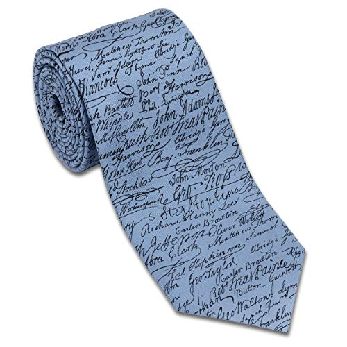 Declaration of Independence Silk Necktie