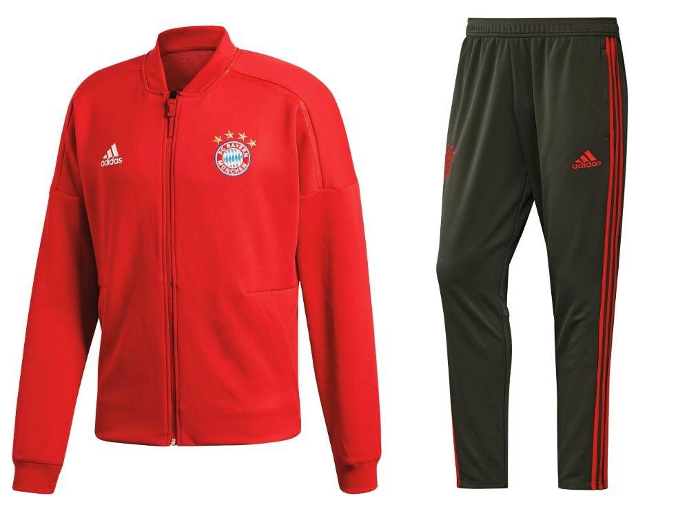 adidas FC Bayern München de Entrenamiento de fútbol Traje Chaqueta ...