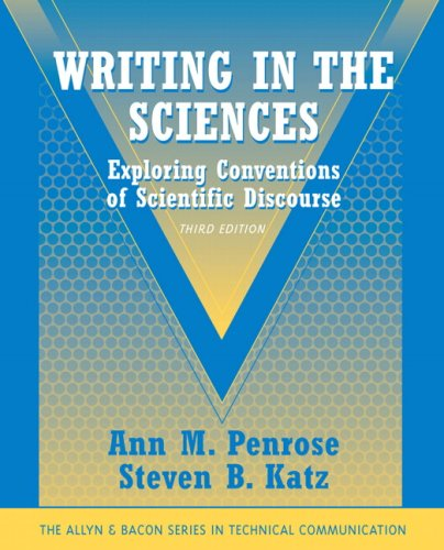 Writing in the Sciences: Exploring Conventions of...