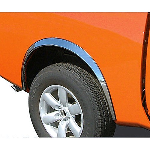 Upgrade Your Auto 4Dr 4Pc Chrome Stainless Steel 3/4 Fit Fender Trim for 2006-2007 Lincoln Zepher