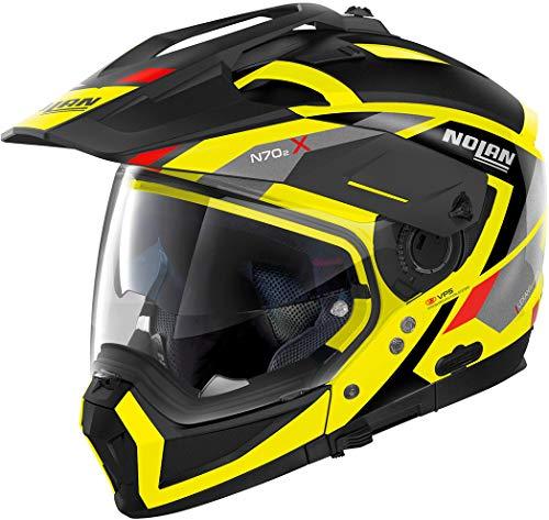 Nolan, Motorradhelm, N70-2 X Grandes Alpes Led, gelb, M N70-2 X Grandes Alpes Led Yellow M