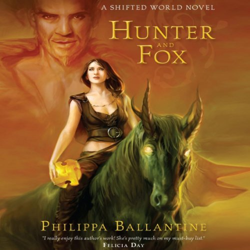 Hunter and Fox audiobook cover art