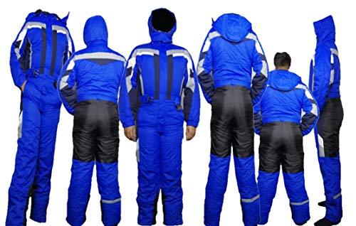 Moderei Auswahl an Schneeanzug | Schneeoverall Skianzug | Skioverall Snowboard Unisex | Jungen | Mädchen | Herren | Damen Schneeanzug (Blau, 146) …