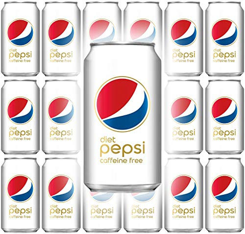 Diet Pepsi Cola, Caffeine-Free, 12 Fl Oz Can (Pack of 18, Total of 216 Oz)