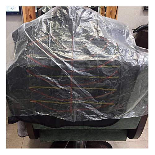 Momola Pack De 200 Pièces Jetables Cou Châle Salon De Coiffure Coupe De Cheveux Découpage Colorant Shampooing Cheveux Cape