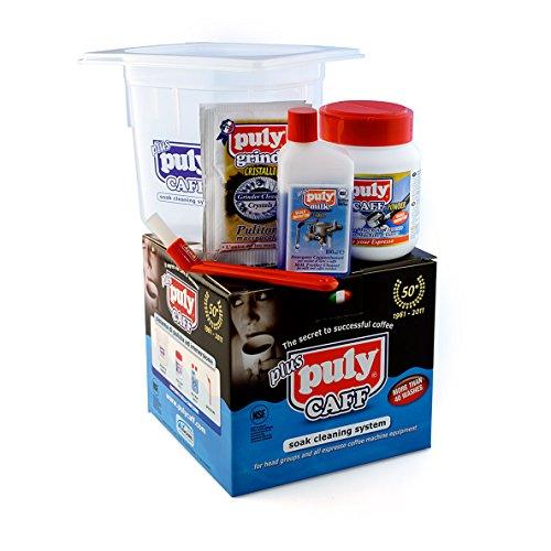Puly Caff - Kit de limpieza para máquina de café espresso