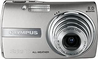 Olympus Stylus 810 8MP Digital Camera with 3x Image-Stabilized Optical Zoom