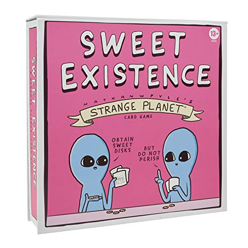 Sweet Existence, A Strange Planet Family-Friendly Party Card Game Inspired...