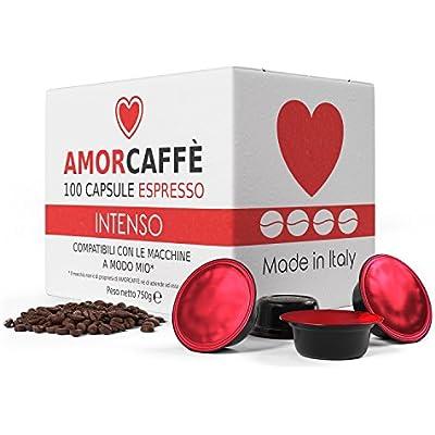 Cheap Amorcaffe 100 Lavazza A Modo Mio Compatible Coffee