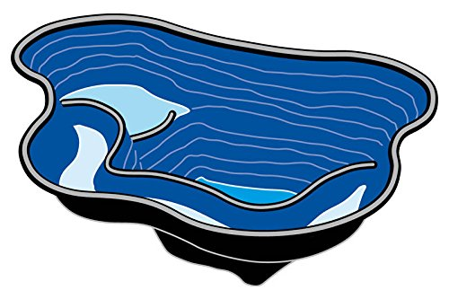 Fertigteich Calmus von Ubbink aus Polyethylen, 145 Liter