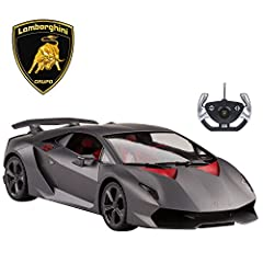 Lamborghini | The most coveted super sports car in the world Rastar | Get behind the wheel of your favorite high performance super car Attention to Detail | No feature is over looked: from simulation race tires, down to interior aesthetics Steering W...
