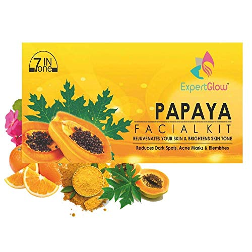 ExpertGlow papaya facial kit for women & men 310mg