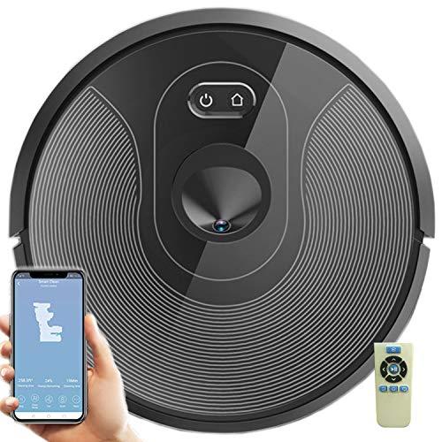 Dynasun Home X610 Robot Lava e Aspira Aspirapolvere 3000PA Wi-Fi App Navigazione GPS Compatibile Alexa e Google Home