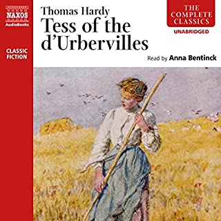 Tess of the d'Urbervilles (Naxos) audiobook cover art