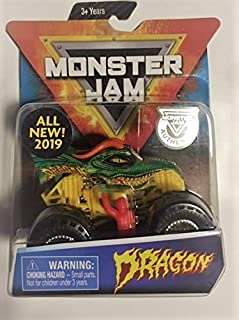 MonsterJam Dragon with Figure and Poster