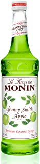 Monin - Granny Smith Apple Syrup, Tart and Sweet, Great for Cocktails and Lemonades, Gluten-Free, Vegan, Non-GMO (750 Milliliters)