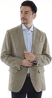 (ドムアオム) D'HOMME A HOMME 麻 100% テーラードジャケット サマージャケット メンズ 春 夏