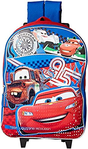 Disney Cars 2 Lightning Mcqueen Roller Backpack