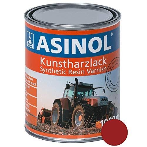 asinol Massey Ferguson Rojo 1000ml Resina barniz color 1L L lata