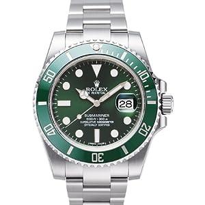 ロレックス サブマリーナシリーズ116610LV グリーンダイヤルウォッチ 腕時計 自動巻き時計 中古 (グリーンウォーターゴースト)