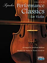 Popular Performance Classics for Violin with CD