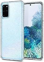 Spigen Compatible for Samsung Galaxy S20 Plus Case Liquid Crystal Glitter - Crystal Quartz